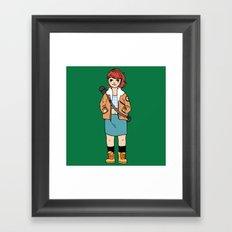 Fio Framed Art Print
