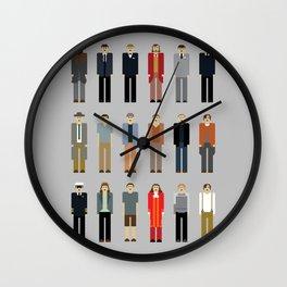 Leo's many characters Wall Clock