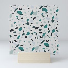 My Youth - Terrazzo Pattern Mini Art Print