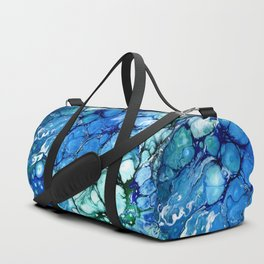 Blue Bubbles Duffle Bag