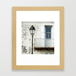 Old Town Antibes Ambiance Framed Art Print