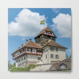 Frauenfeld Castle Metal Print