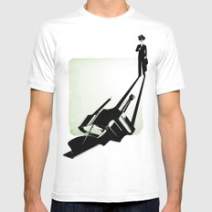 the pianist MEDIUM Mens Fitted Tee White