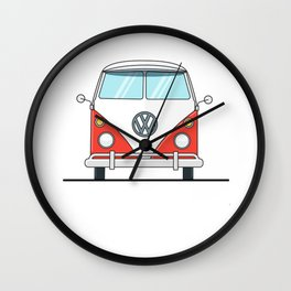 Bus life Wall Clock