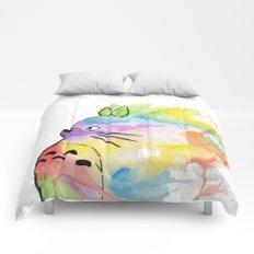 My Rainbow Totoro Comforters