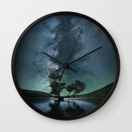 Rattlesnake Lake Wall Clock