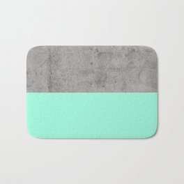 Sea on Concrete Bath Mat