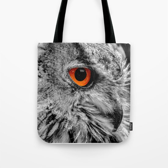 ORANGE OF MY EYE Tote Bag
