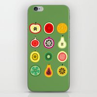 vector iPhone & iPod Skins featuring Banca de Frutas by Marcelo Romero