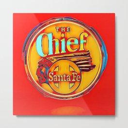The Chief - Santa Fe Metal Print