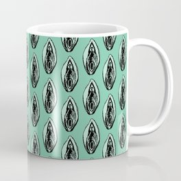 Vulves bleues - Blues vulvas Coffee Mug