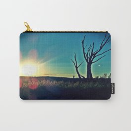 Dead Tree at Sunset 7a Carry-All Pouch