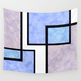 Blue Tiles Wall Tapestry