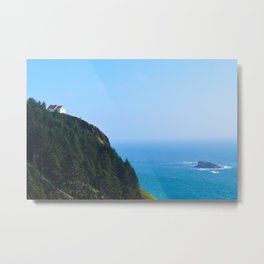 The Cliff I Metal Print