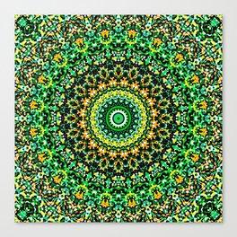 Mosaic Kaleidoscope 1 Canvas Print