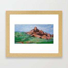 Prehistory Framed Art Print