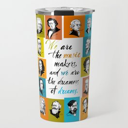 Great composers portraits Travel Mug