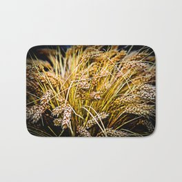 Sheaf Of Wheat - Thank You Bath Mat
