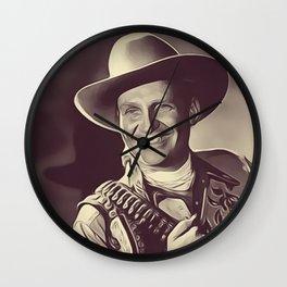 Gene Autry Wall Clock