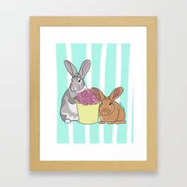 Willow and Charlie Framed Art Print