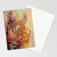 Enchanted Bunny Beats The Burst Stationery Cards