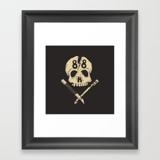 Born to hate in '88 Framed Art Print
