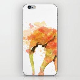 Positive elephant iPhone Skin