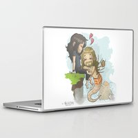 fili Laptop & iPad Skins featuring Kili and Mer!Fili by AlyTheKitten