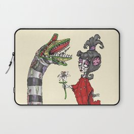 Lydia and the Sandworm Laptop Sleeve