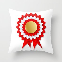 Rosette Throw Pillow