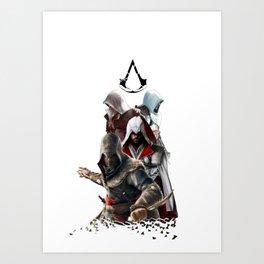 Assassin's creed family Art Print