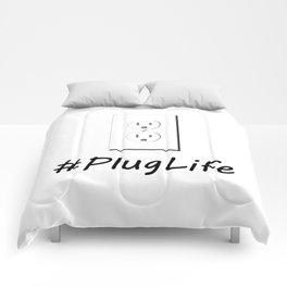 #PlugLife Outlet Comforters
