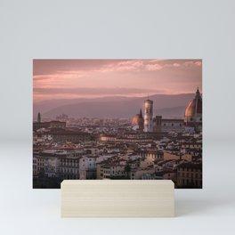 Florence, Italy Cityscape Mini Art Print