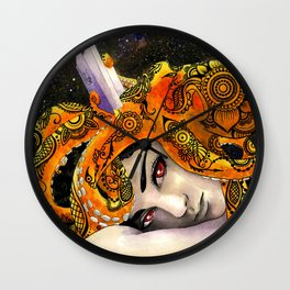 Deep Reading Wall Clock