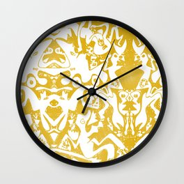 Perfect Night Out Wall Clock