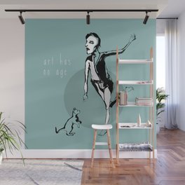 Artists at Home I Wall Mural