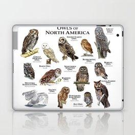 Owls of North America Laptop & iPad Skin
