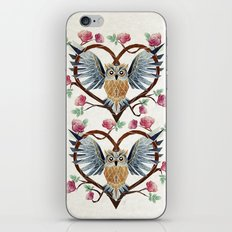 lovely owl iPhone & iPod Skin