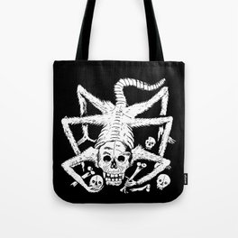 Mexican Day of the Dead Skull Man eater deadly scorpion Tote Bag