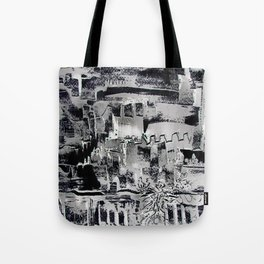 Improbable town Tote Bag