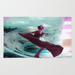 If you're not making waves, you're not underway Rug