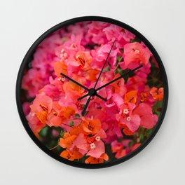 California Blooms XII Wall Clock
