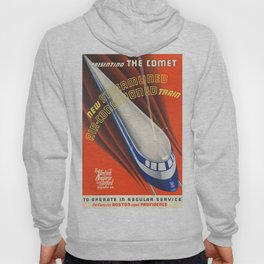 The Comet. A Old train railroad. Hoody