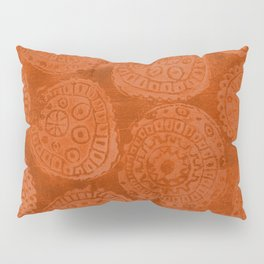 Tribal Terracota Rounds Pillow Sham