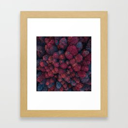 Imaginary Forest - Top View Framed Art Print