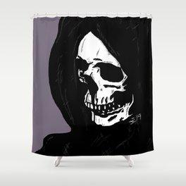 Feeling Grim Shower Curtain