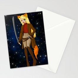 NekoGirl Serenity Stationery Cards