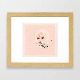 Bobbi Framed Art Print
