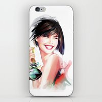 perfume iPhone & iPod Skins featuring perfume by tatiana-teni