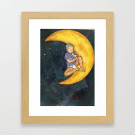 Son and the Moon Framed Art Print